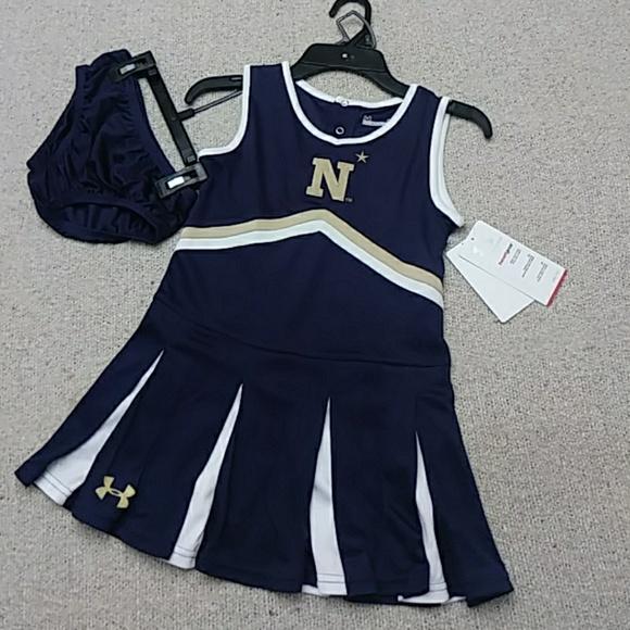 0498199a8 Under Armour Dresses | Last One Hp Nwt Navy Cheerleader Dress | Poshmark